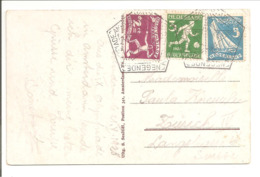 Olympiade 1928,Tricolore.Juiste Frankering HC 213+214+215. CORRECT FRANKING ! - Summer 1928: Amsterdam