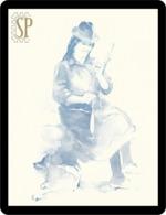 Riproduzione Di Un Acquerello Filatura Reproduction D'aquarelle Femme Filant Aquarell Woman Spinning - Watercolours