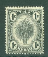 Malaya - Kedah: 1922-40   Sheaf Of Rice     SG52    1c      Used - Kedah