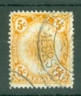 Malaya - Kedah: 1922-40   Sheaf Of Rice     SG55    5c      Used - Kedah