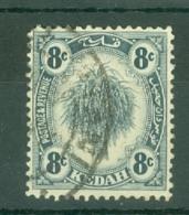 Malaya - Kedah: 1922-40   Sheaf Of Rice     SG57    8c      Used - Kedah