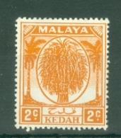 Malaya - Kedah: 1950/55   Sheaf Of Rice     SG77    2c      MH - Kedah