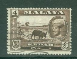 Malaya - Kedah: 1959/62   Sultan Abdul Halim Shah - Pictorial     SG106    4c   Used - Kedah