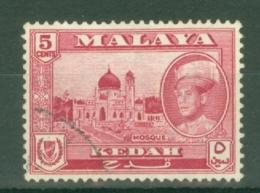 Malaya - Kedah: 1959/62   Sultan Abdul Halim Shah - Pictorial     SG107    5c  Used - Kedah