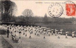 4040 Cpa Combrée - Institution Libre - Exercice De Boxe - France