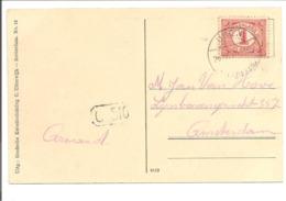 Lange Balk Uden Vluchtoord.Internering-Grande Guerre.Kaart Vluchtoord Uden Verpleegsterswoning - Briefe U. Dokumente