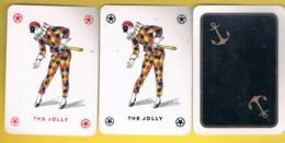 Ref 45 - 2 Jocker + 1 Cart (voir  Scaner) - Itália - Playing Cards (classic)