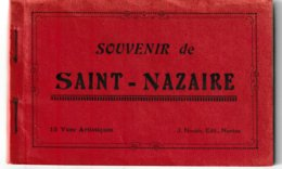 Loire Atlantique Souvenir De SAINT NAZAIRE Carnet De 12 Cartes (Nozais éditeur) - Saint Nazaire