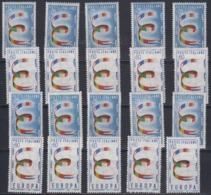 Europa Cept 1957 Italy 2v (10x) ** Mnh (44979) - Europa-CEPT