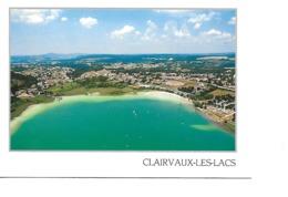39 CLAIRVAUX LES LACS Cpm Le Grand Lac - Clairvaux Les Lacs
