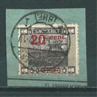 Saar MiNr. 74 Abart  (r10) - Gebraucht
