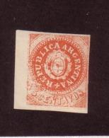 ARGENTINE 1862/64 YVERT N°5  NEUF MH* - Sin Clasificación