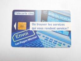 Télécarte Privée 5U , Gn71 , Envoi - MGS2 - Francia