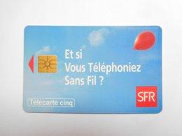 Télécarte Privée 5U , Gn140 , SFR - Frankreich
