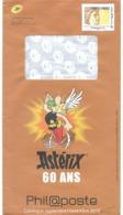 """Prêt à Poster Philaposte International 250 G """"Timbres De France"""" Illustré Sabine De Gandon + Astérix 60 Ans (sept. 2019) - 1977-81 Sabine De Gandon"""