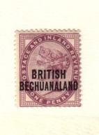 BECHUANALAND 1892  YVERT  N°31 NEUF MH* - Bechuanaland (...-1966)