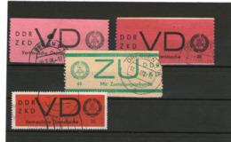 Lot ältere DDR Gestempelt - Briefmarken