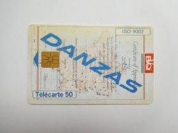 Télécarte Privée 50U , En1303 , Danzas , état Moyen - 50 Units
