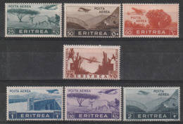 ERYTHREE - PA N° 18/24 ** (1936) Série Courante - Eritrea