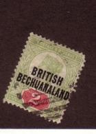 BECHUANALAND 1892  YVERT  N°32 OBLITERE - Bechuanaland (...-1966)