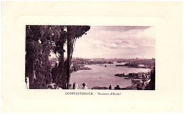 CONSTANTINOPLE - Hauteurs D'Eyoub - Turquie