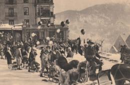 DAVOS GRAND HOTEL BELVEDERE,  TONI MOROSANI, MANEGER,  WINTERSPORTS . - GR Graubünden