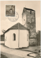 Liechtenstein Maximum Card 4-12-1958 Kapelle St. Peter Mäls-Balzers Very Nice Card - Maximum Cards