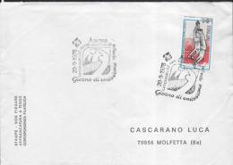 ITALIA - ANNULLO SPECIALE - 20.09.1978 - CAMPIONATO MONDIALE DI PALLAVOLO SU BUSTA - Pallavolo