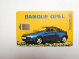 Télécarte Privée 50U , En1070 , Banque Auto Opel - Francia