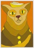 Cpm 1741/422 ERGON - Chat - Cat - Katz - Félin - Animal - Illustrateurs - Illustrateur - Ergon