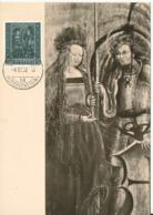 Liechtenstein Maximum Card 4-12-1958 Hl. Moritz And Hl. Agatha Very Nice Card - Maximum Cards