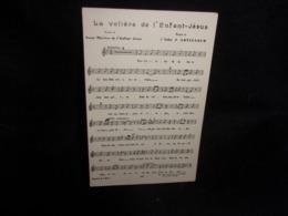 """Carte Partition. """" La Volière De L ' Enfant - Jésus """"Musique De L ' Abbé Artigarum . Paroles De Soeur Thérèse De.... - Musique Et Musiciens"""