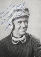 Maucice Trintignant Avec Dédicace - Automobile - F1