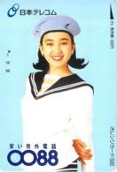 Femme - Woman - - Carte Prépayée Japon - Comics