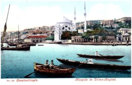 CONSTANTINOPLE - Mosquée De Dolma-Bagtché - Turquie