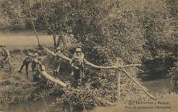 Hermeton Sur Meuse Hastière Pont De Perches Scouts Scoutisme  Vers Orphelinat Seraing. Dumont Nels - Hastière