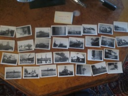 30 PHOTOS- SABORDAGE DE LA FLOTTE TOULON 1942- - 1939-45