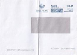 Envelop Dienst Van Het Koninklijk Huis Uit 2013 / Cover Service Of The Royal House - Covers & Documents