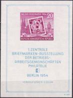 DDR 1954 Mi-Nr. Block 10 ** MNH - [6] Oost-Duitsland