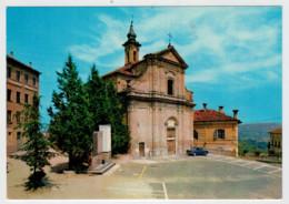 VEZZA  D' ALBA  (CN)     ANTICA  CHIESA   DEL  ROERO  E  MONUMENTO  AI  CADUTI   (NUOVA) - Altre Città