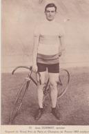 JEAN CUGNOT   Sprinter - Cycling