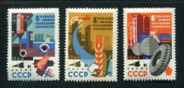 Russia 1964 Mi 2872-2874 MNH ** - 1923-1991 USSR