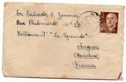 Sobre  De 1960 Con Matasellos De Alfafar. Valencia - 1931-Hoy: 2ª República - ... Juan Carlos I