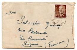 Sobre  De 1960 Con Matasellos Ambulante Valencia-lliria. - 1931-Hoy: 2ª República - ... Juan Carlos I