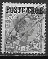 Danemark 1921 N° 151 Surchargé Postfaerge Oblitéré - 1913-47 (Christian X)