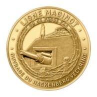 Monnaie De Paris , 2019 , Veckring , Ligne Maginot , Ouvrage Hackenberg Veckring , On Ne Passe Pas - Sonstige
