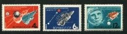 Russia 1964 Mi 2895-2897  MNH ** Space - 1923-1991 USSR
