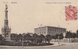 *** MADRID Estatua De Colon Casa De La Moneda -TTB - Madrid
