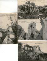 Lot De 14 CPA - GUERRE 1914/1918 - FONCQUEVILLERS - HEBUTERNE- CARENCY - -BIENVILLIERS - BETHUNE- LENS- (62) - - Frankrijk
