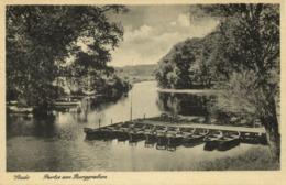 STADE, Partie Am Burggraben (1940s) AK - Stade